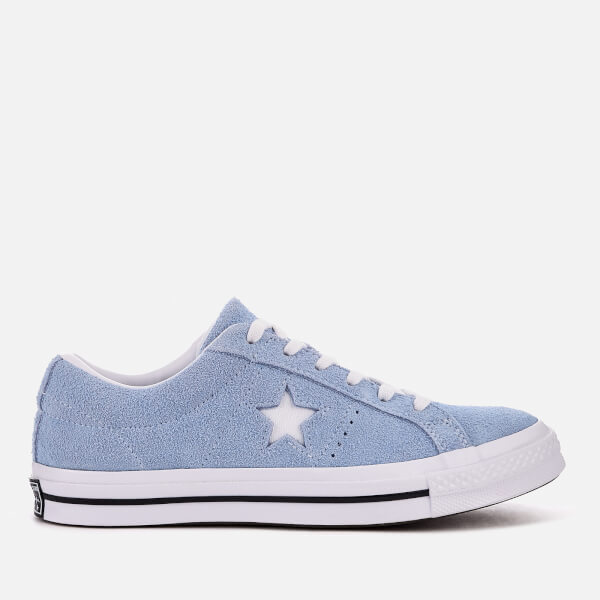 c468ab9700 Converse One Star Ox Trainers - Blue Chill/White/Black | FREE UK ...