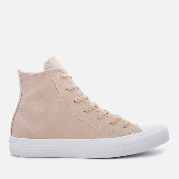 Converse Women's Chuck Taylor All Star Hi-Top Trainers - Particle Beige/Silver/White