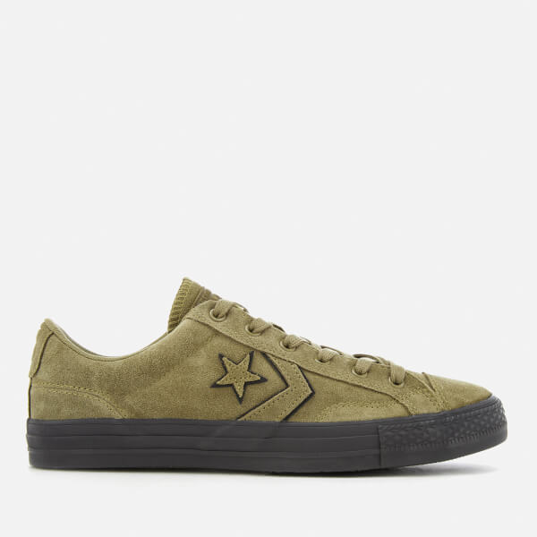 Converse Men's Star Player Ox Trainers - Khaki/Black