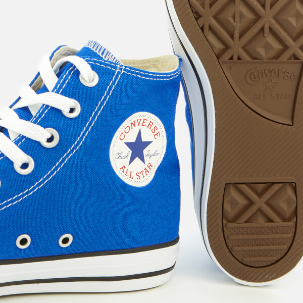 22f606232f8 Converse Men s Chuck Taylor All Star Hi-Top Trainers - Hyper Royal  Image 4