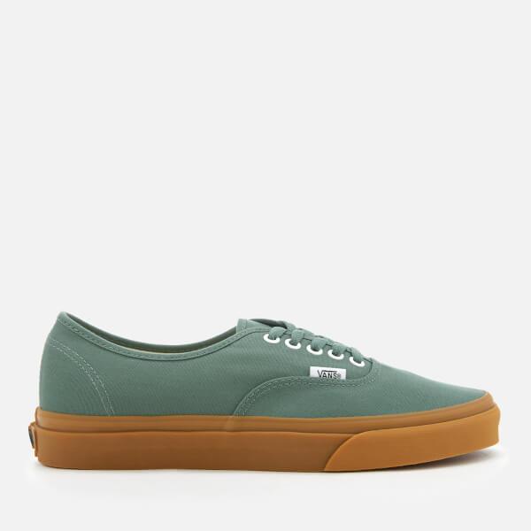 Vans Men s Authentic Trainers - Duck Green Gum Mens Footwear ... 1fadba8f9