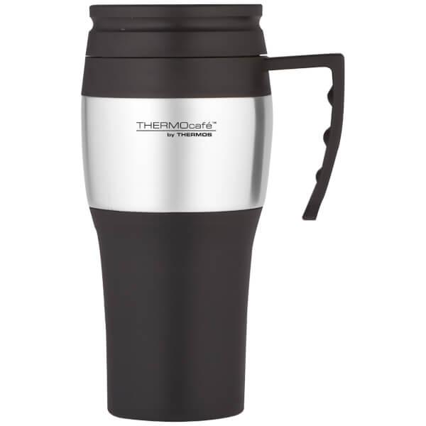 Thermos ThermoCafe 2010 Steel Travel Mug 400ml