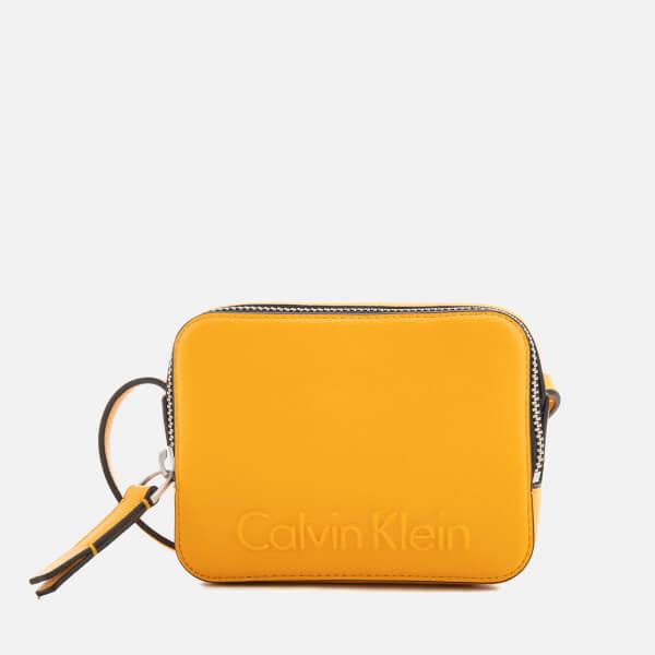 Calvin Klein Women's Edge Small Cross Body Bag - Sunflower