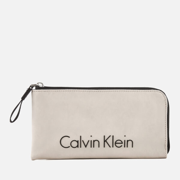 Calvin Klein Women's City Nylon Pouch - Cement