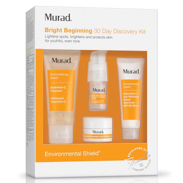 Murad Environmental Shield Bright Beginnings Starter Kit (Worth $61)