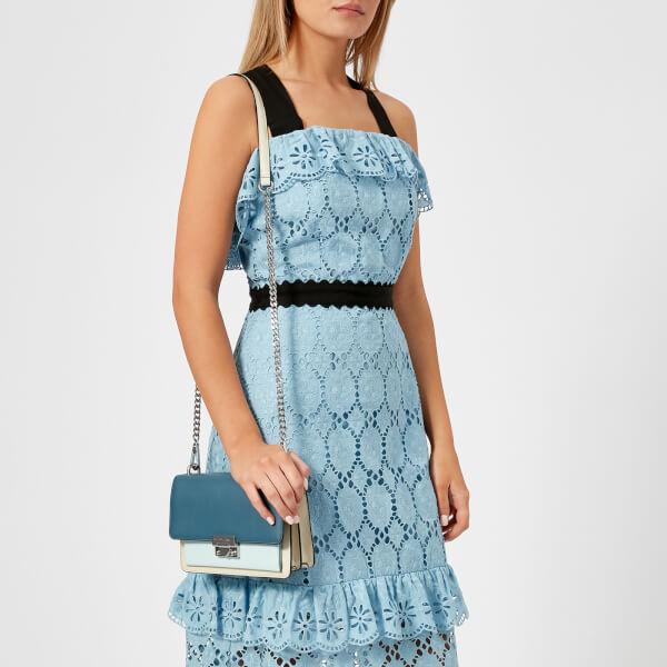 f0a95c6f7c0f Rebecca Minkoff Women s Christy Small Shoulder Bag - Blue Multi  Image 3