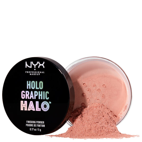 NYX Professional Makeup Holographic Halo Finishing Powder - Magical