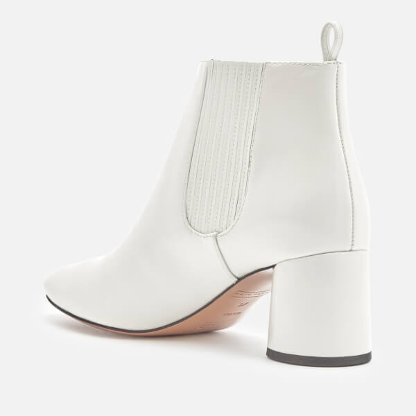 White Patent Rocket Chelsea Boots Marc Jacobs v2Wgxs