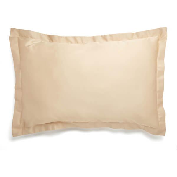 Christy 400TC Sateen Oxford Pillowcase Pair Gold