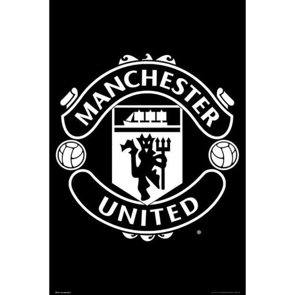 Manchester United Crest 17/18 Maxi Poster 61 x 91.5cm