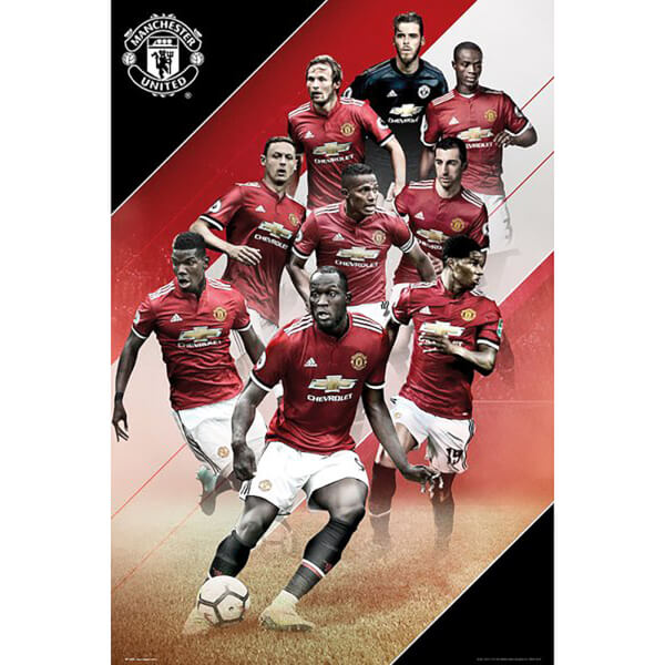 Manchester United Players 17/18 Maxi Poster 61 x 91.5cm