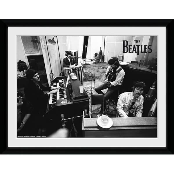 The Beatles Studio Framed Photograph 8 x 6 Inch