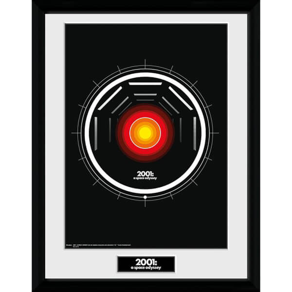 2001: A Space Odyssey Fallen Star Framed Photograph 12 x 16 Inch