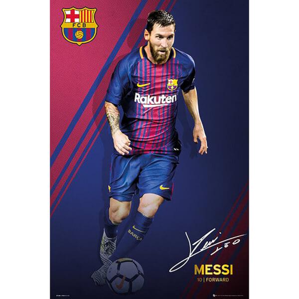 Barcelona Messi 17/18 Maxi Poster 61 x 91.5cm