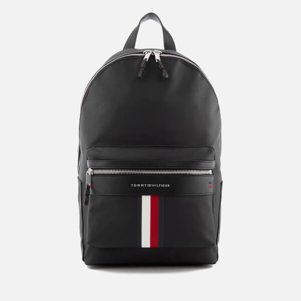 240235b7aa Tommy Hilfiger Men s Elevated Backpack - Black Clothing