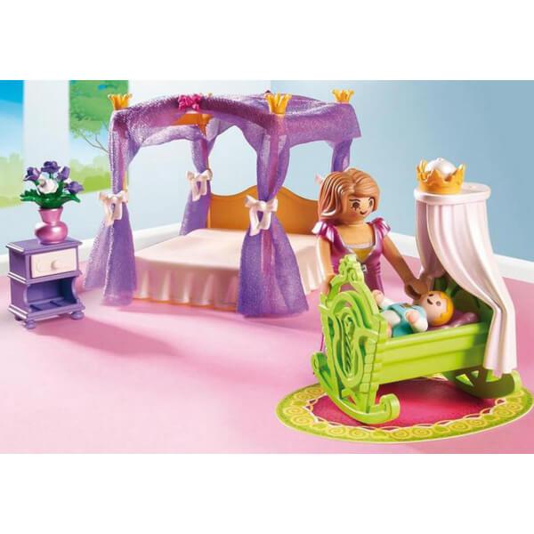 Playmobil Princess Chamber with Cradle (6851) Toys | TheHut.com