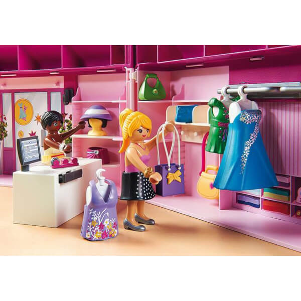 Playmobil Fashion Girls Take Along Fashion Boutique with Changeable ...