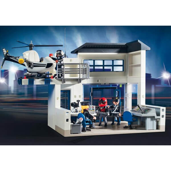 playmobil police station bundle 9372 image 3 - Playmobile Police