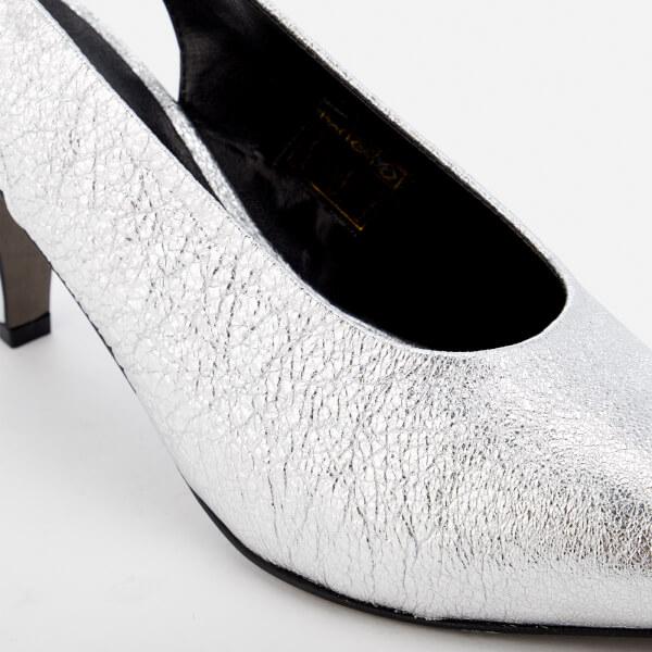 wholesale dealer 0fb48 d9f14 Minkoff Rebecca para Slingback de corte Silver Zapatos mujer Rock Simona  drYHwxpSqr