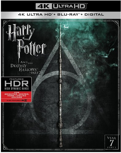 Harry Potter & The Deathly Hallows Pt 2 - 4K Ultra HD