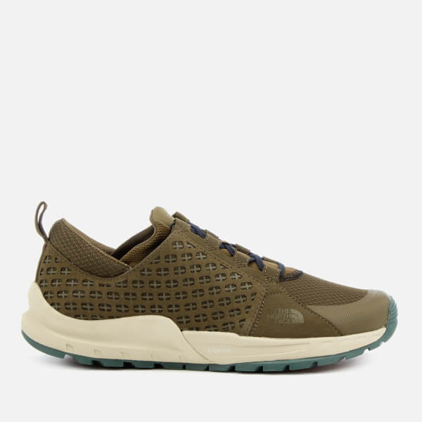 The North Face Mountain Sneakers in Green/Navy UI6YyDC