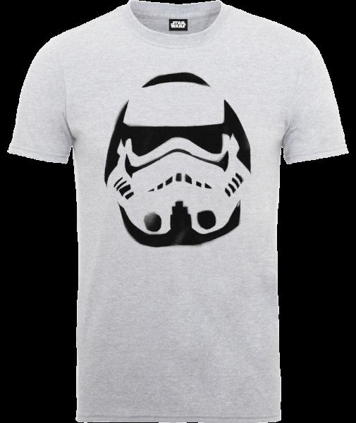 Star Wars Paint Spray Stormtrooper T-Shirt - Grey