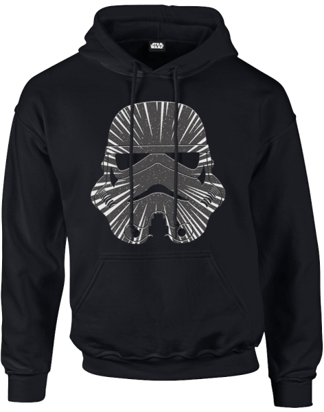 star wars hyperspeed stormtrooper pullover hoodie black merchandise zavvi us. Black Bedroom Furniture Sets. Home Design Ideas