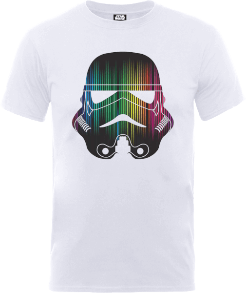 Star Wars Vertical Lights Stormtrooper T-Shirt - White