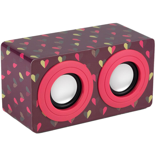 Intempo Mini Blaster Speaker - Dotty Heart