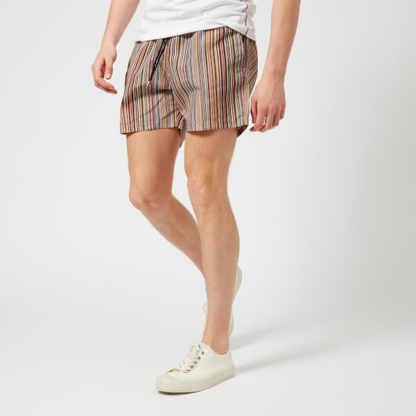 Paul Smith Accessories Men's Classic Stripe Swim Shorts - Multi