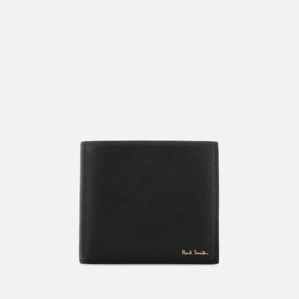 Paul Smith Accessories Men's Mini Print Billfold Wallet - Black
