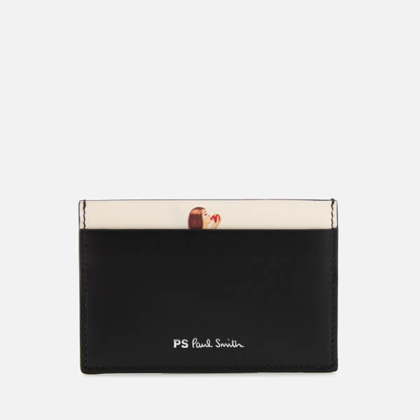 Paul Smith Accessories Men's Naked Lady Credit Card Case - Black