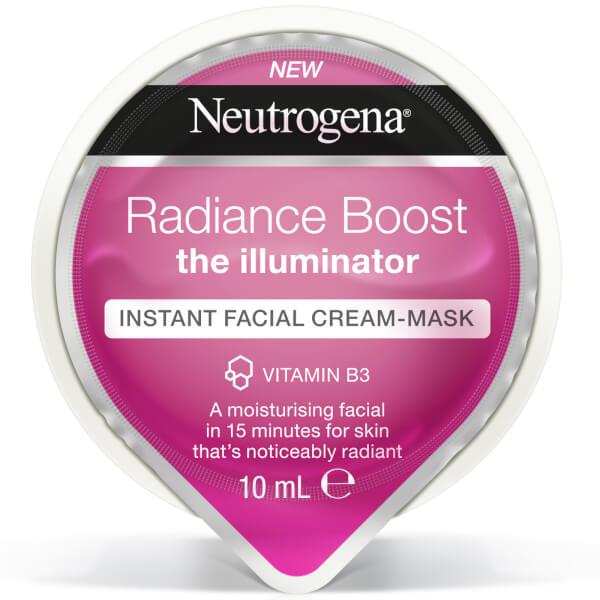 Neutrogena Radiance Boost Instant Facial Cream-Mask 10ml