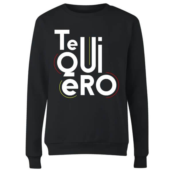 Te Quiero Women's Sweatshirt - Black