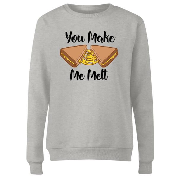 You Make Me Melt Women's Sweatshirt - Grey