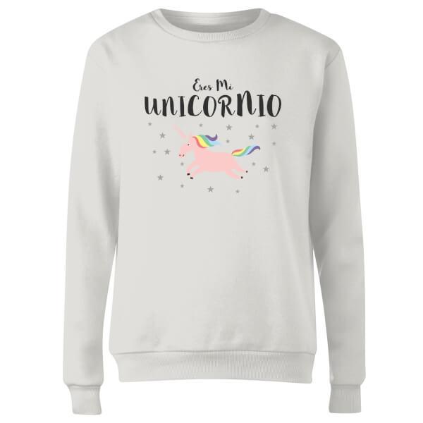 Eres Mi Unicornio Women's Sweatshirt - White