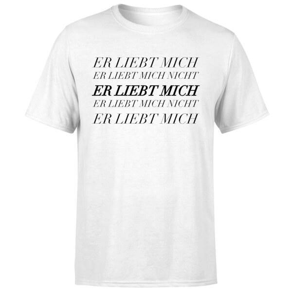 Er Liebt Mich T-Shirt - White