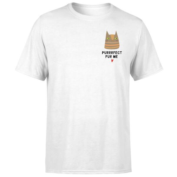 Purrrfect Fur Me T-Shirt - White