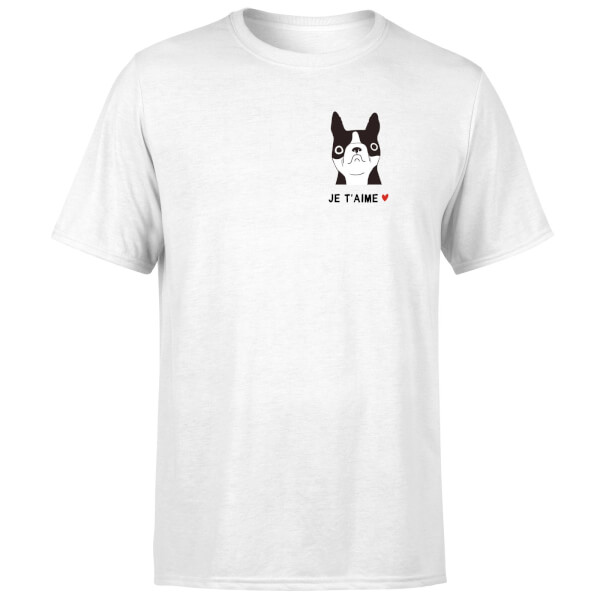 Je'Taime T-Shirt - White