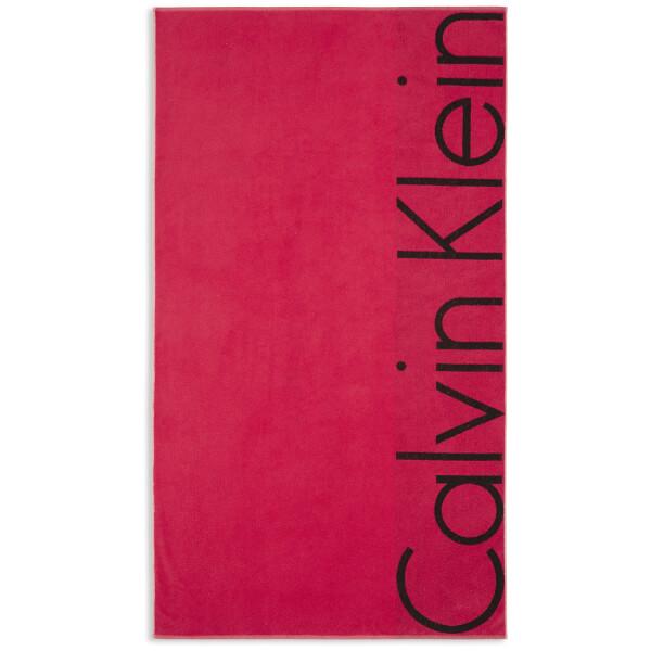 Calvin Klein Bold Beach Towel - Vapor
