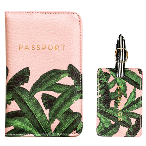 Alice Scott Luggage Tag and Passport Cover