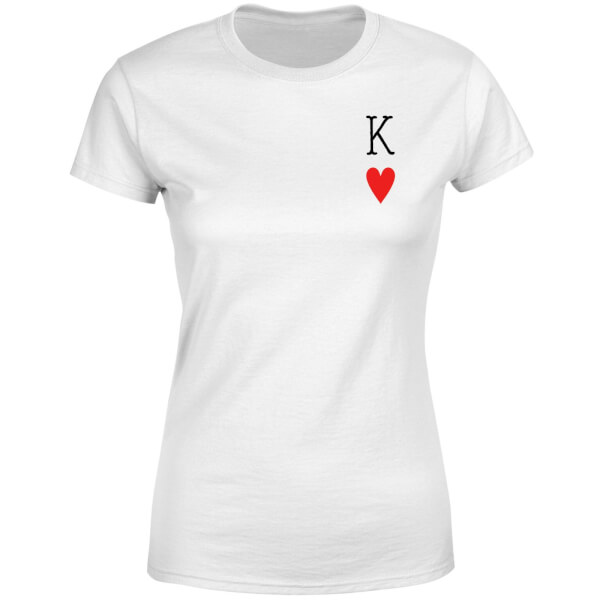 King Of Hearts Women's T-Shirt - White