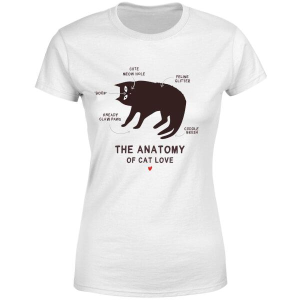 The Anatomy Of Cat Love Women's T-Shirt - White