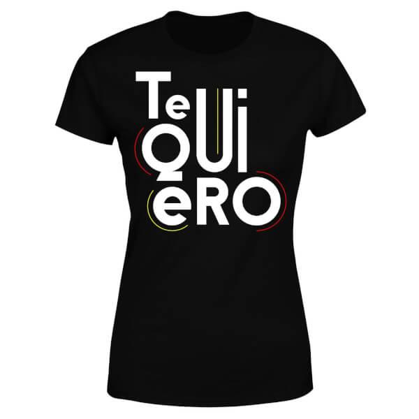 Te Quiero Women's T-Shirt - Black