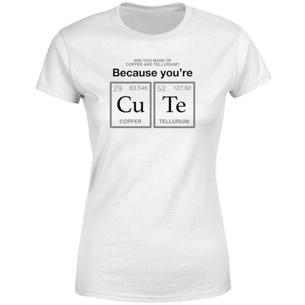 You're CU TE Women's T-Shirt - White