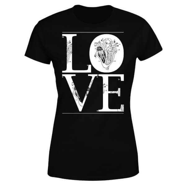 Anatomic Love Women's T-Shirt - Black