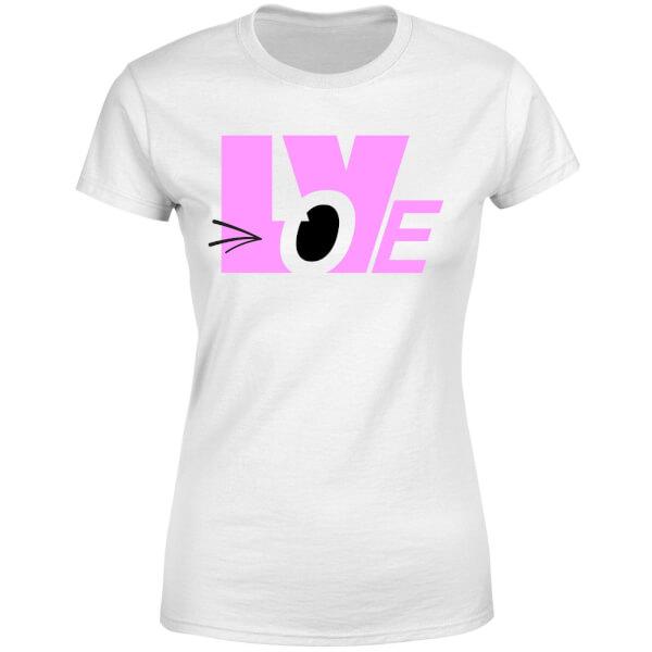 Love Wink Women's T-Shirt - White