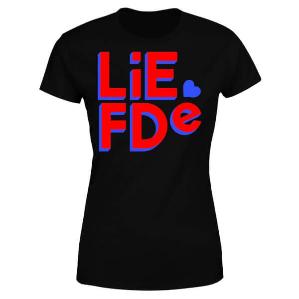 Liefde Block Women's T-Shirt - Black
