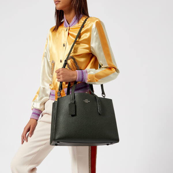 575aa48561 Coach Women s Charlie Carryall - Ivy  Image 3