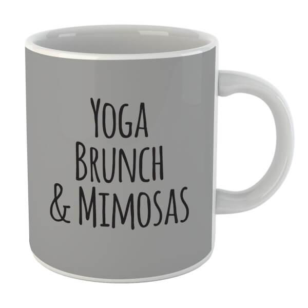 Yoga Brunch And Mimosas Mug
